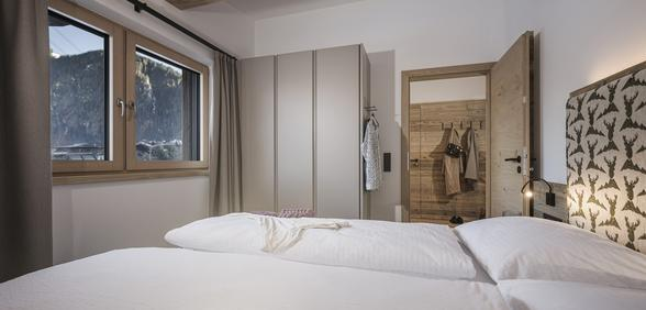 spacious double room at Apartment Lovely Frieda